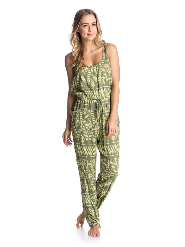 0 Love Is Enough Romper  ARJWD03062 Roxy