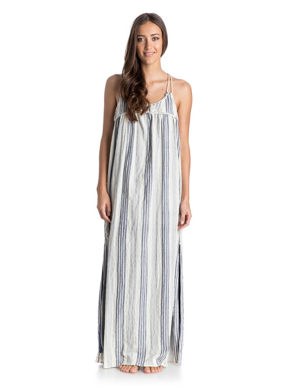 0 First Love Striped Maxi Dress  ARJWD03070 Roxy