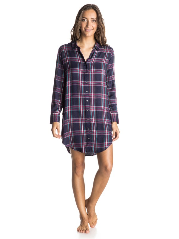 0 Woodwork Shirt Dress  ARJWD03150 Roxy