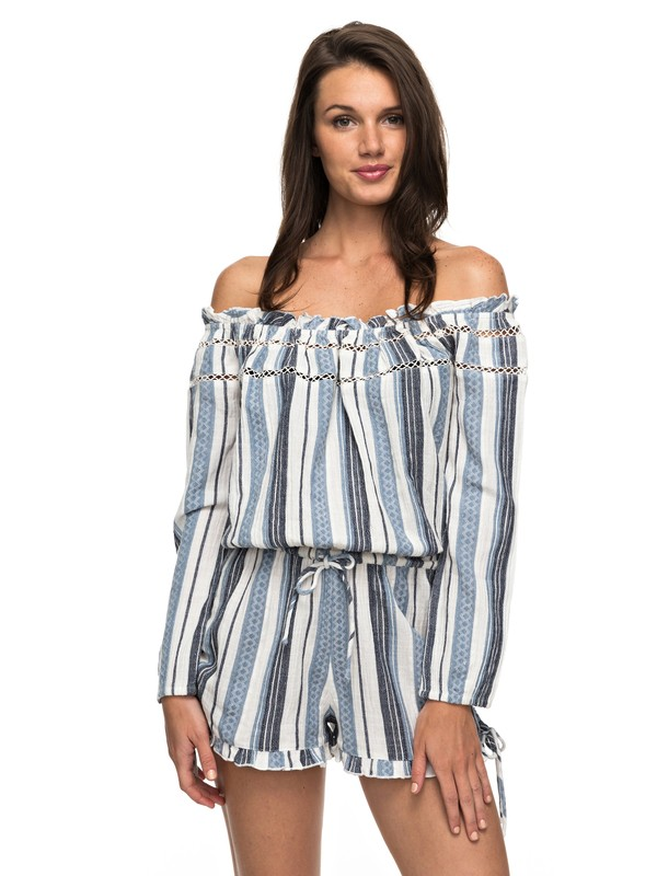 0 Anthem Cold Shoulder Romper  ARJWD03177 Roxy