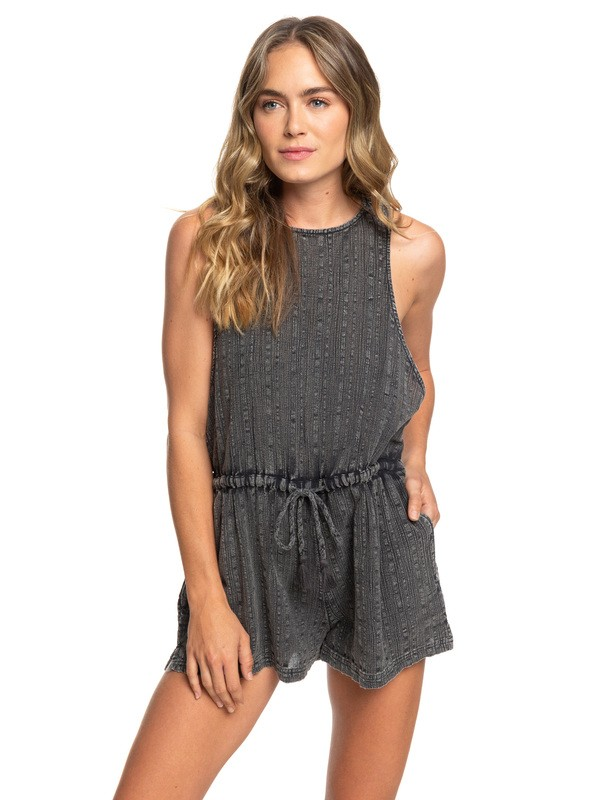 0 When I'm With You Romper Black ARJWD03233 Roxy