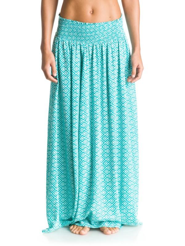 0 Mixed Up Maxi Skirt  ARJWK03005 Roxy