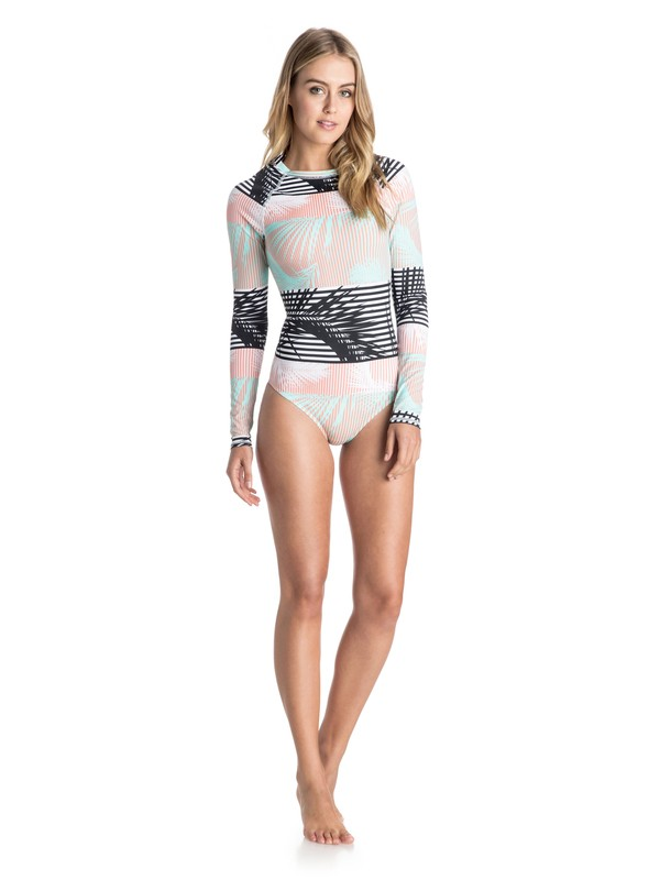 0 Long Sleeve Onesie - Maillot une pièce  ARJWR03071 Roxy