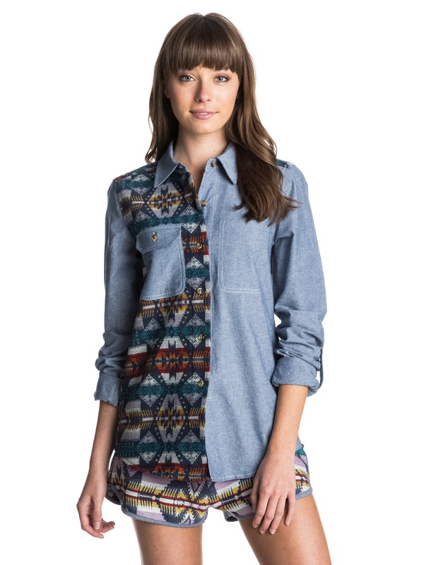 0 Pendleton Two Time Board Shirt  ARJWT03050 Roxy