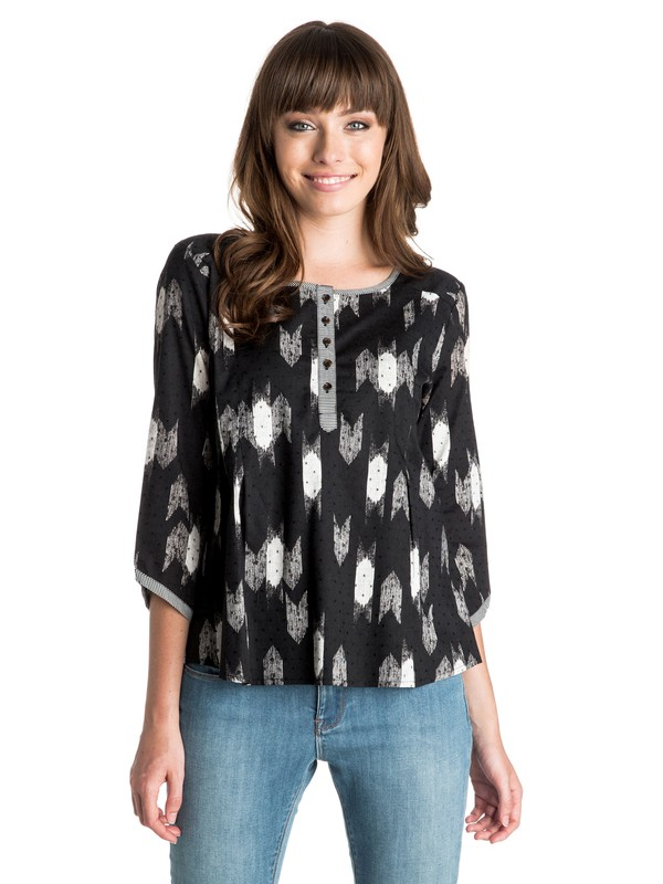 0 Little Next Door - 3/4 Sleeve Top  ARJWT03071 Roxy