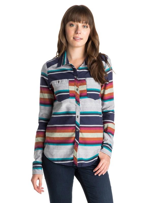 0 Sneaky Peaks Long Sleeve Shirt  ARJWT03088 Roxy