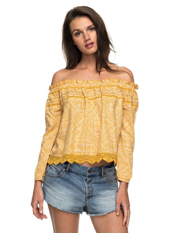 0 OFF THE SHOULDER TOP  ARJWT03144 Roxy