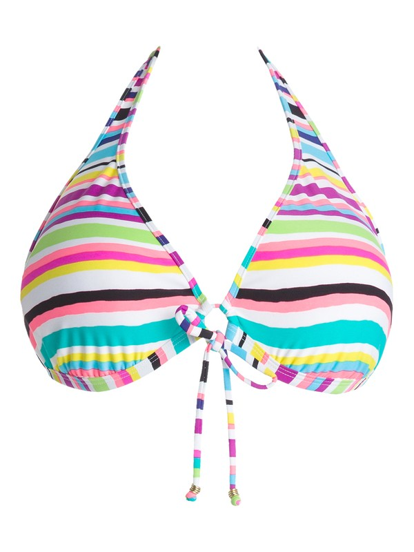 0 Sun Kissed Angel Halter D Cup Bikini Top  ARJX300058 Roxy