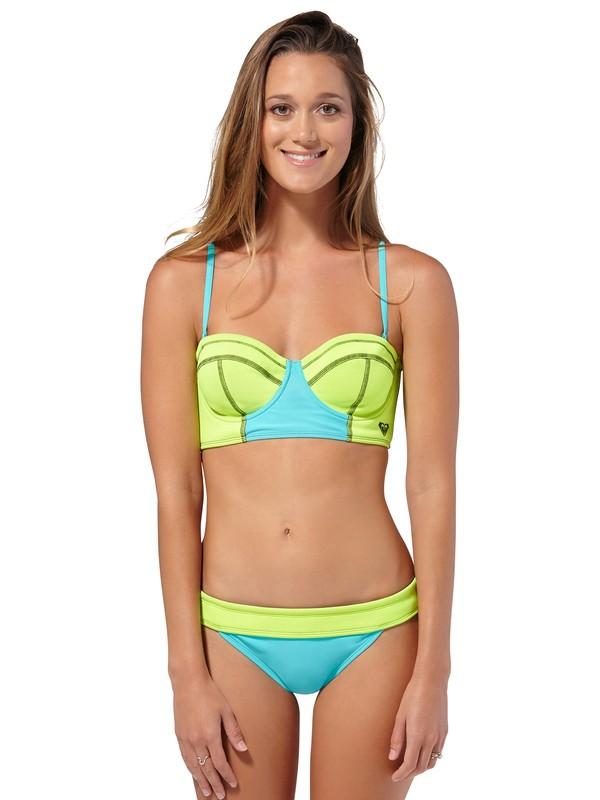 0 Neon Tide Bustia Bikini Top  ARJX300064 Roxy