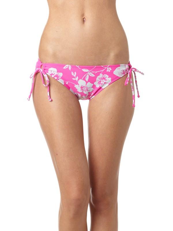 0 Beach Babe 70s Lowrider Tie Side Bikini Bottoms  ARJX400050 Roxy