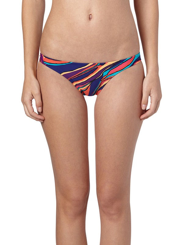 0 Brazilian Chic Itsy Bitsy Bikini Bottoms  ARJX400120 Roxy