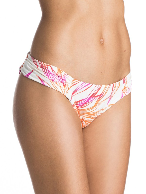 0 Hearts Of Palm Basegirl Bikini Bottoms  ARJX403103 Roxy