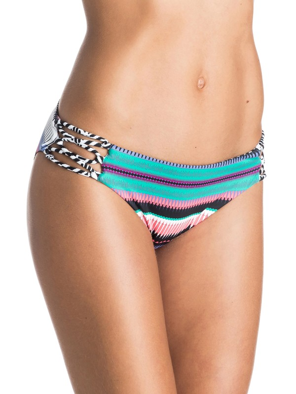 0 Livin Free 70's Bikini Bottoms  ARJX403173 Roxy