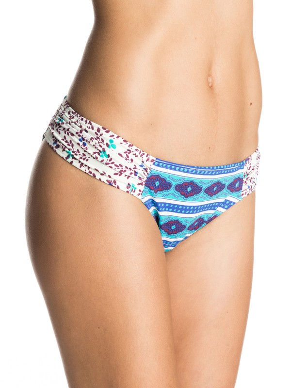 0 Woodstock Basegirl Bikini Bottoms  ARJX403226 Roxy