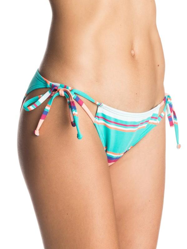 0 Wave Chaser Tie Side Bikini Bottoms  ARJX403230 Roxy