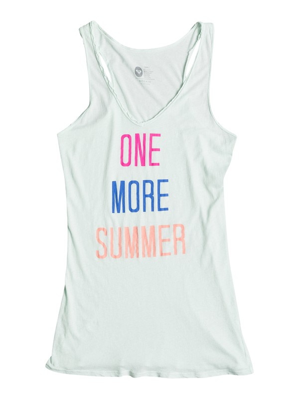 0 One More Summer Tank Top  ARJZT00542 Roxy