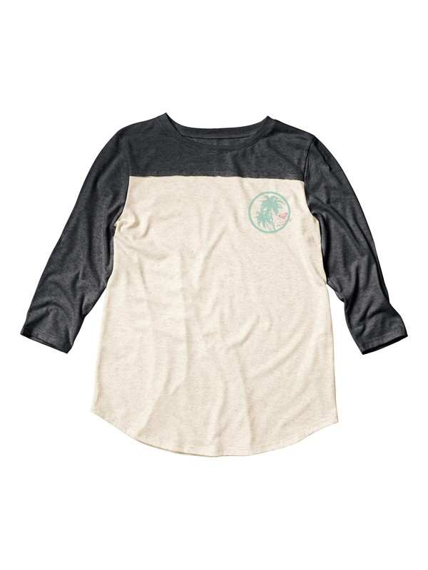 0 Palm Circle Soccer Long Sleeve Tee  ARJZT04573 Roxy