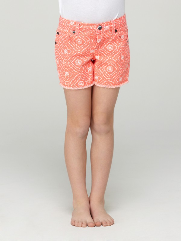 0 Girls 2-6 Long Trail Blazer Shorts  ARLDS00002 Roxy