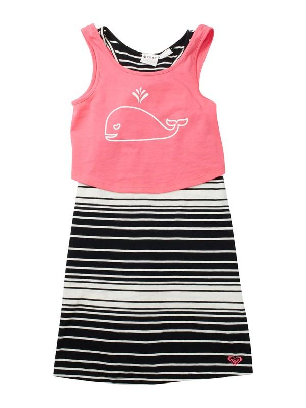 0 Girls 2-6 Sea Sunset Dress  ARLKD00035 Roxy