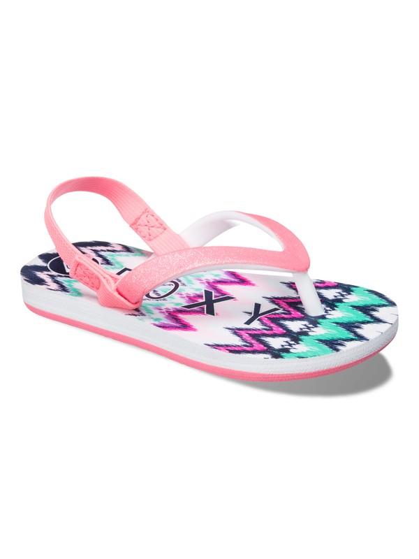 0 Girls 2-6 Tahiti Flip Flops  ARLL100015 Roxy