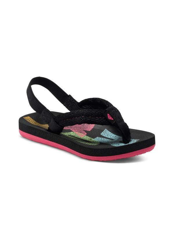 0 Girls 2-6 Volcano Flip Flops  ARLL100040 Roxy