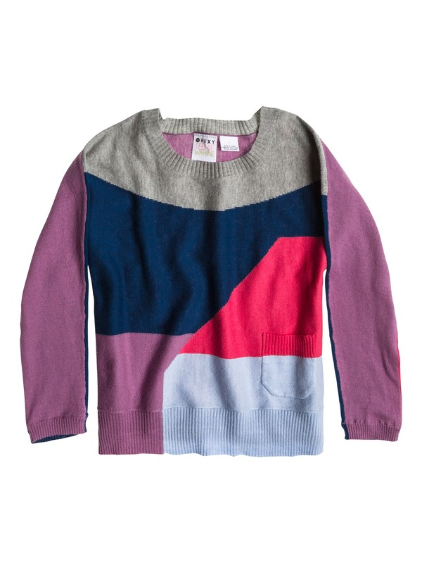 0 Girls 2-6 Happy Days Sweater  ARLSW03004 Roxy