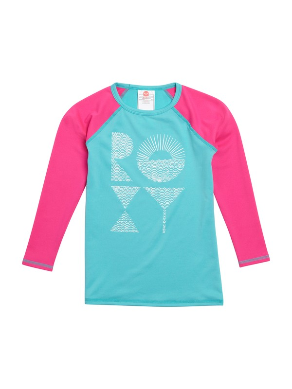 0 Girls 2-6 Low Tide Long Sleeve Rashguard  ARLWR00006 Roxy