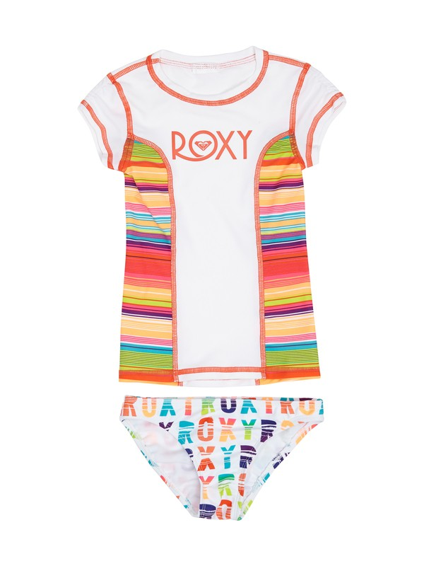0 Girls 2-6 Sundown Rashguard Set  ARLWR00008 Roxy