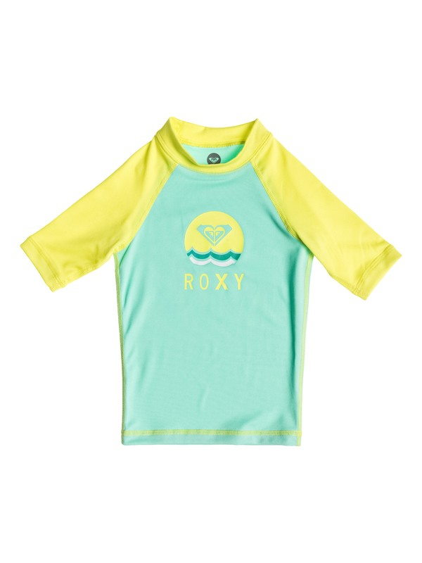 0 Girls 2-6 Sail Away Short Sleeve Rashguard  ARLWR03017 Roxy