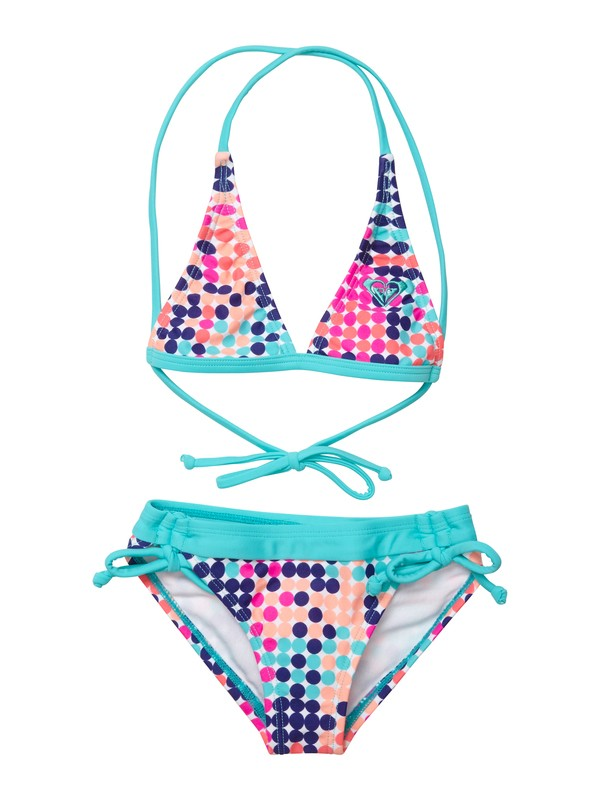 0 Girls 2-6 Peaceful Dreamer Halter Set Swimsuit  ARLX200012 Roxy