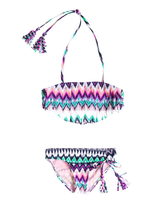 0 Girls 2-6 Dream Catcher Bandeau Swim Set  ARLX203012 Roxy