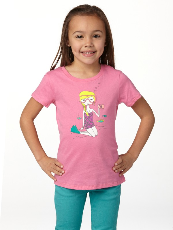 0 Girls 2-6 Snorkel Girl Tee  ARLZT00083 Roxy