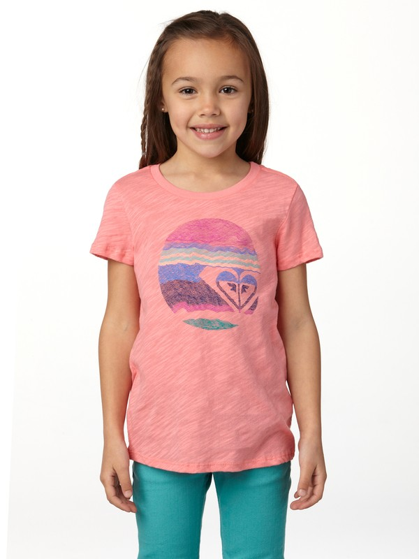 0 Girls 2-6 Motion Tee  ARLZT00098 Roxy