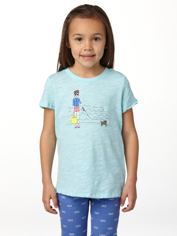0 Girls 2-6 Skate Chick Tee  ARLZT00099 Roxy