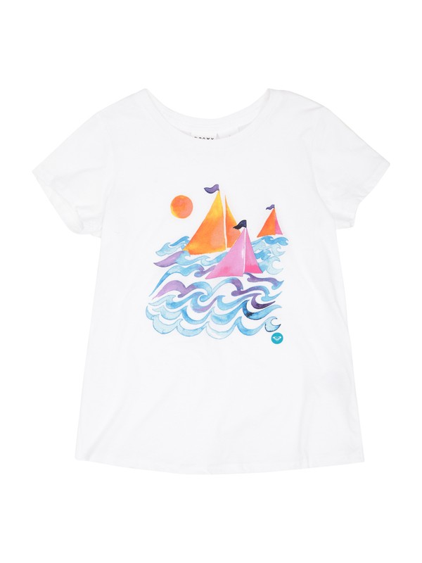 0 Girls 2-6 Sail Away Tee  ARLZT00154 Roxy