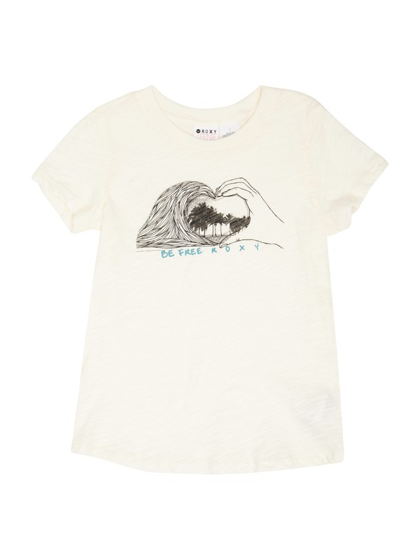 0 Girls 2-6 Be Free Tee  ARLZT00158 Roxy