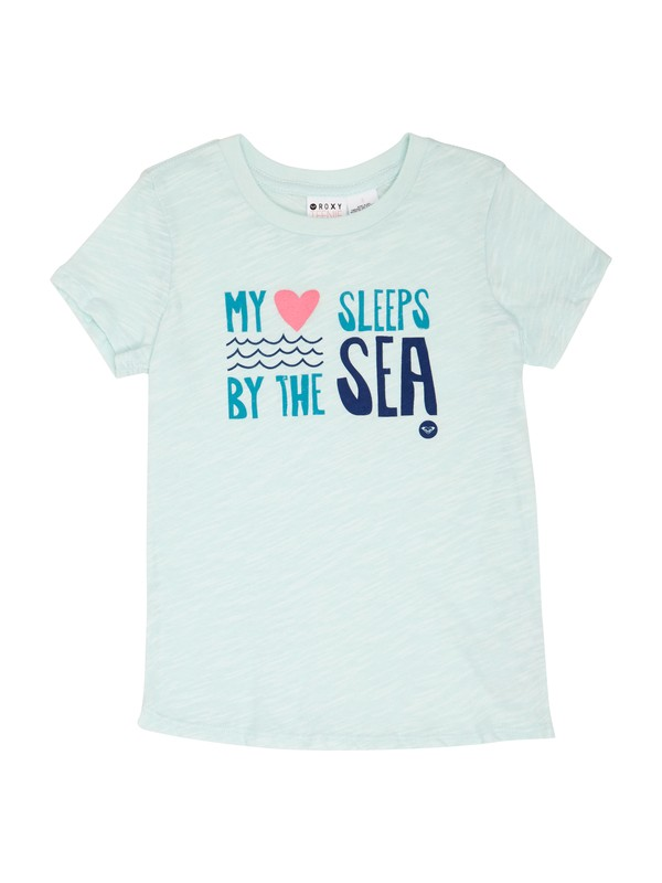 0 Girls 2-6 Sea Sleeper Tee  ARLZT00163 Roxy