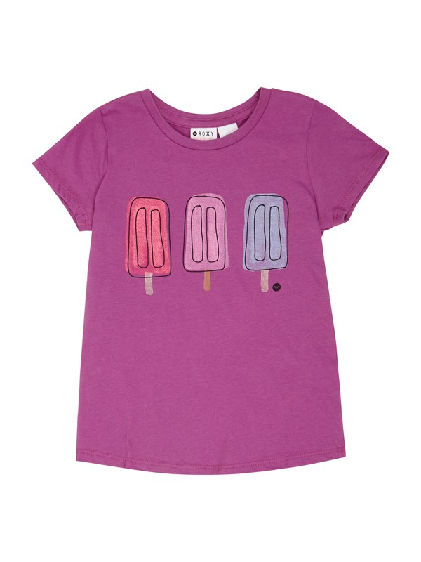 0 Girls 2-6 Popsicles Tee  ARLZT00167 Roxy