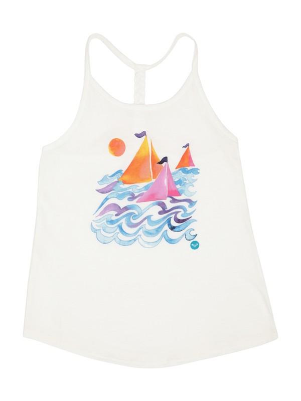0 Girls 2-6 Sail Away Tank  ARLZT00174 Roxy