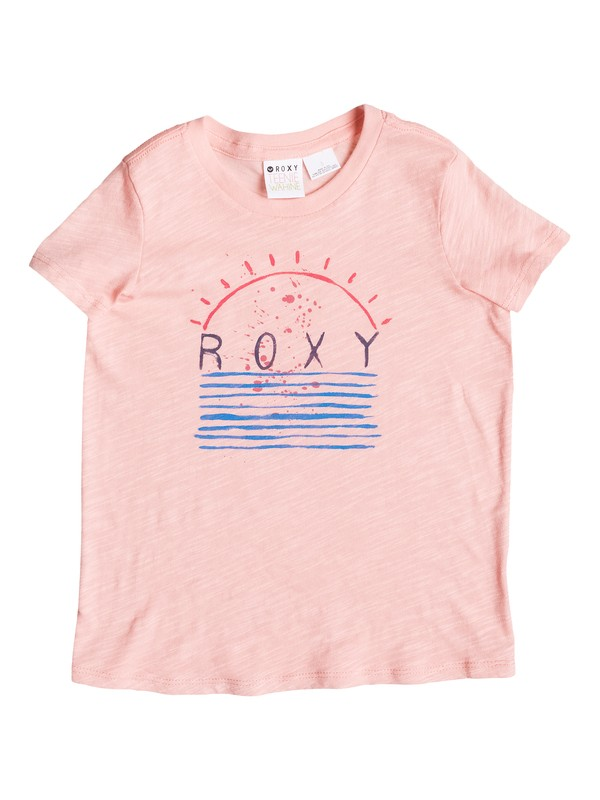 0 Girls 2-6 Morning Light Tee  ARLZT03009 Roxy