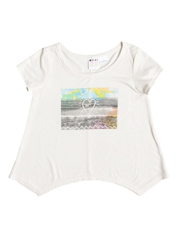 0 Girls 2-6 Beach Daze Tee  ARLZT03010 Roxy