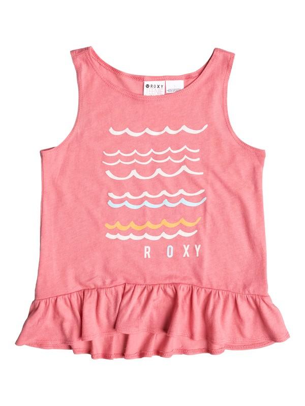 0 Girls 2-6 Wave Squared Tee  ARLZT03019 Roxy