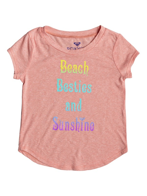 0 Girls 2-6 Beach Besties Tee  ARLZT03092 Roxy