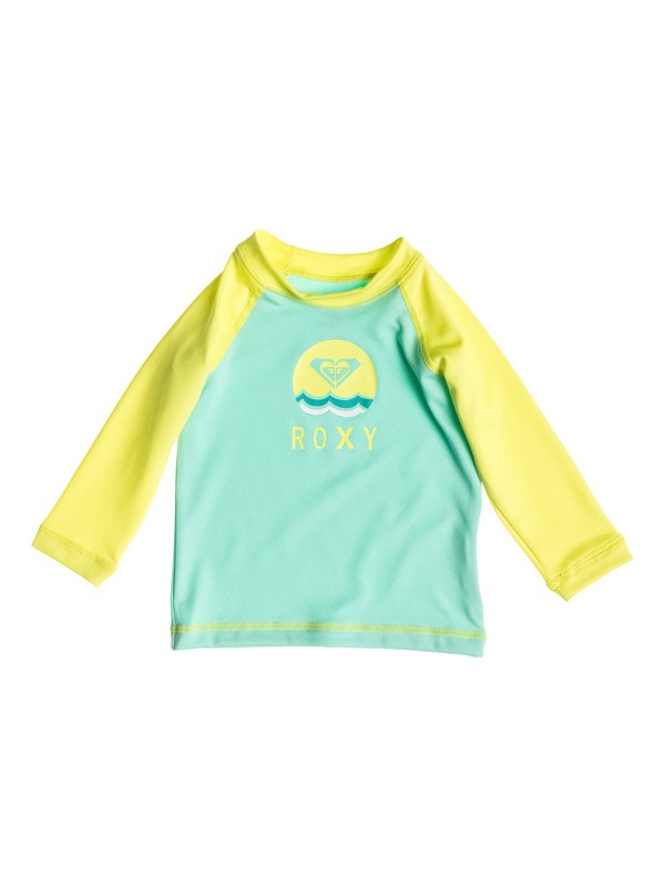 0 Baby Sail Away Long Sleeve Rashguard  ARNWR03003 Roxy
