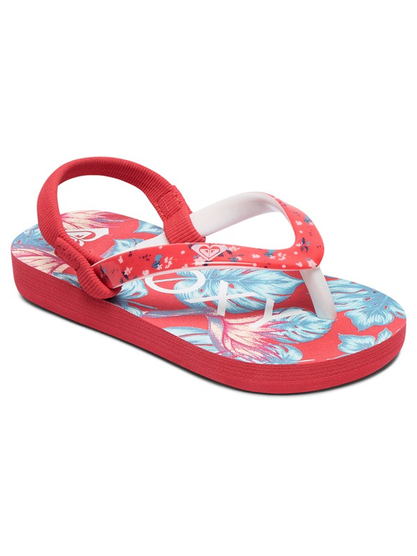 0 Pebbles - Flip-Flops for Toddlers Red AROL100004 Roxy