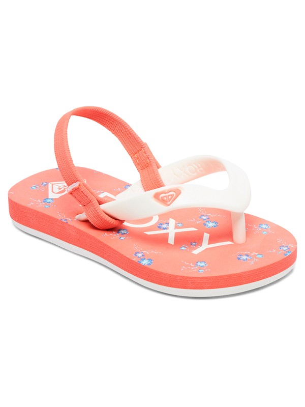 0 Girls 2-6 Tahiti Backstrap Sandals Pink AROL100005 Roxy