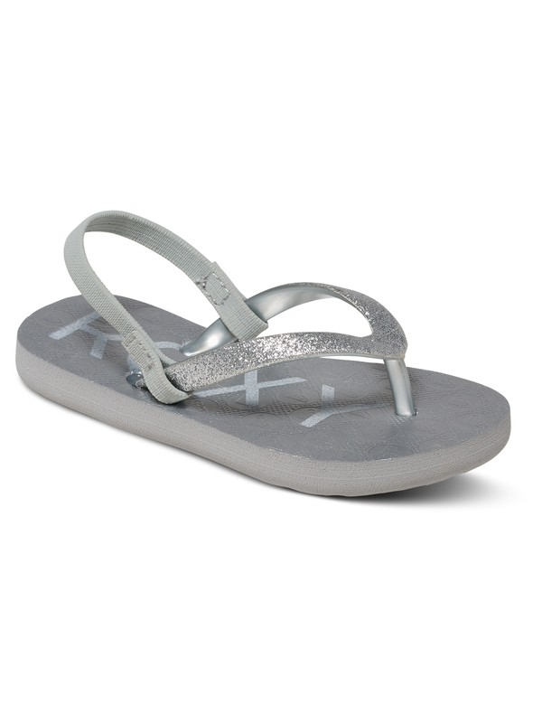 0ae61eaae 0 Viva Glitter - Flip-Flops for Toddlers Gray AROL100007 Roxy