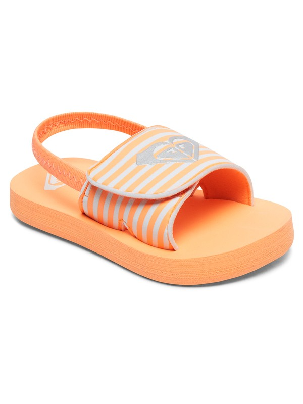 0 Girl's 2-6 Finn Sandals Pink AROL100012 Roxy