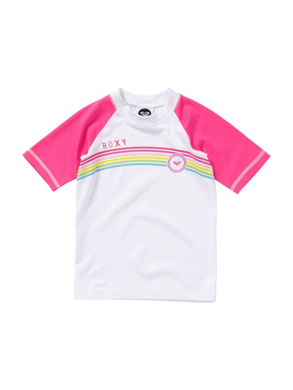 0 Girls 2-6 From Above Toddler SS Rashguard  AROWR00002 Roxy