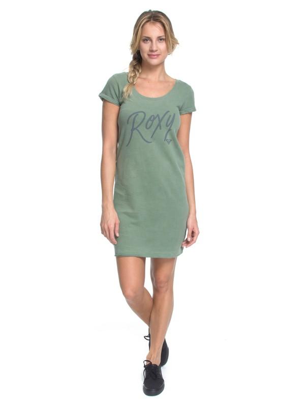 0 RX VESTIDO KISSED Verde BR73811545 Roxy